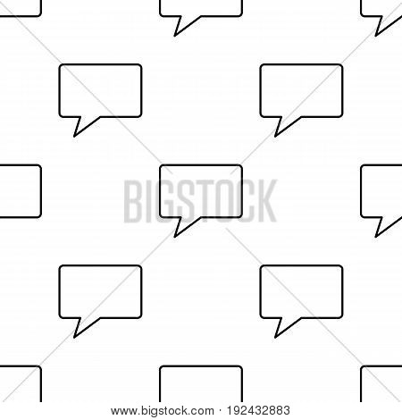 Call seamless pattern in outline style for web, infographics and creative design.