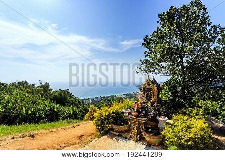 View From Big Buddha, Phuket, Thailand