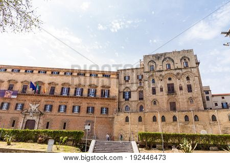 Palazzo dei Normanni (Palace of the Normans) is a palace in Palermo seat of the Sicilian Regional Assembly