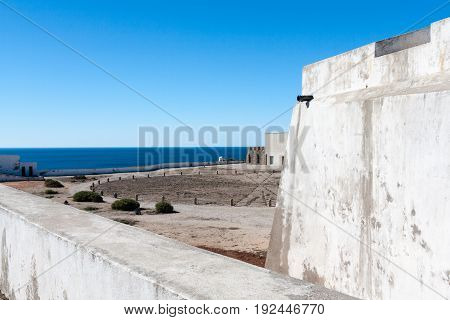 Sagres Fortress in the Algarve region of Portugal