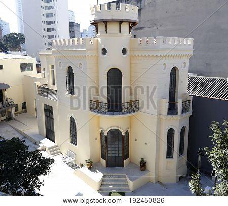 Little Castle In Sao Paulo