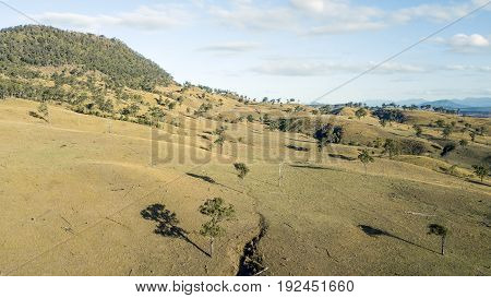 Country Agricultural And Farming Field