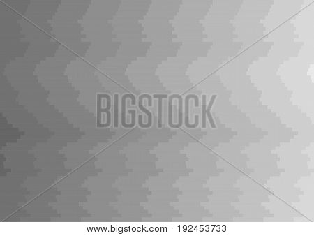 Abstract geometric mosaic shapes on gray background