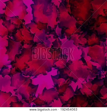 Dark Pink Watercolor Texture Background. Breathtaking Abstract Dark Pink Watercolor Texture Pattern.