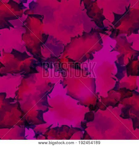 Dark Pink Watercolor Texture Background. Wondrous Abstract Dark Pink Watercolor Texture Pattern. Exp