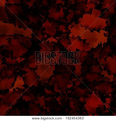 Dark Red Watercolor Texture Background. Delicate Abstract Dark Red Watercolor Texture Pattern. Expre