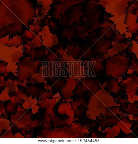 Dark Red Watercolor Texture Background. Exquisite Abstract Dark Red Watercolor Texture Pattern. Expr