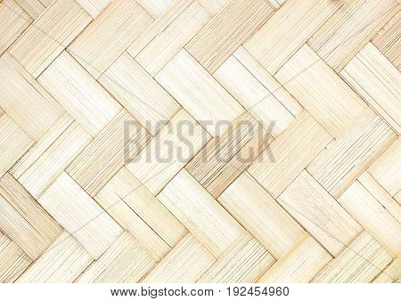 white wood bamboo texture background Patterns of basketry