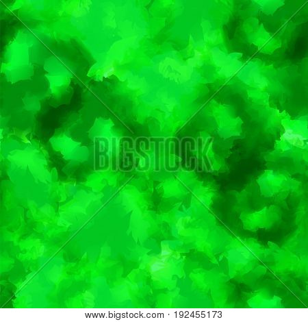 Green Watercolor Texture Background. Bizarre Abstract Green Watercolor Texture Pattern. Expressive M