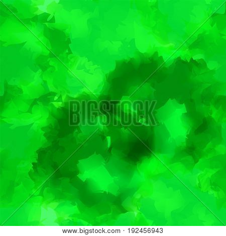 Green Watercolor Texture Background. Beautiful Abstract Green Watercolor Texture Pattern. Expressive