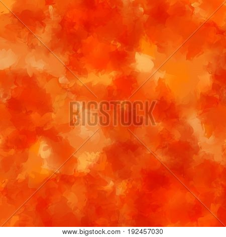 Orange Watercolor Texture Background. Amazing Abstract Orange Watercolor Texture Pattern. Expressive