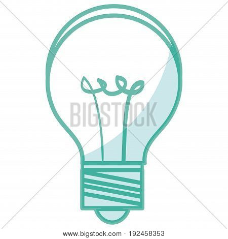 bulb light isolated icon vector illustration design shadow