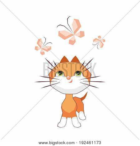 Cute Little Cat.eps