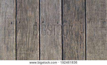 Vintage old rustic brown wood background texture
