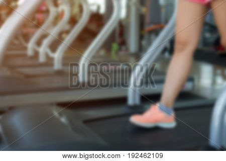 Human Walking Exercise On Run Treadmill Machine Cardio Equipment