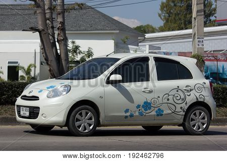 Private Eco Car, Nissan March.