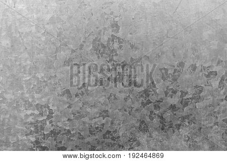 Texture of Zinc galvanized iron roof plate background pattern.