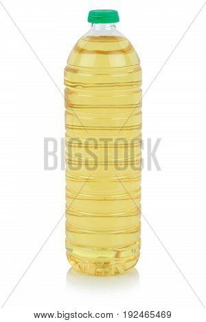 Rapeseed Vegetable Oil Bottle Rape Isolated