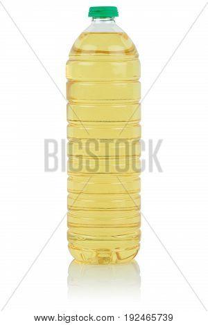 Rapeseed Vegetable Oil Bottle Fresh Rape Isolated