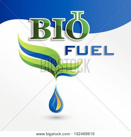 Set Eco logo design bio fuel elements bio icon natural icon organic icon