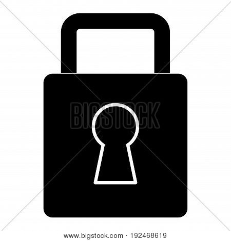 Security lock locked icon vector illustration design graphic