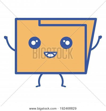 folder documents save icon vector illustration design graphic