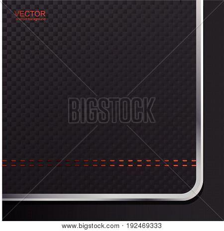 Dark abstract background. Red dark background. Techno background.