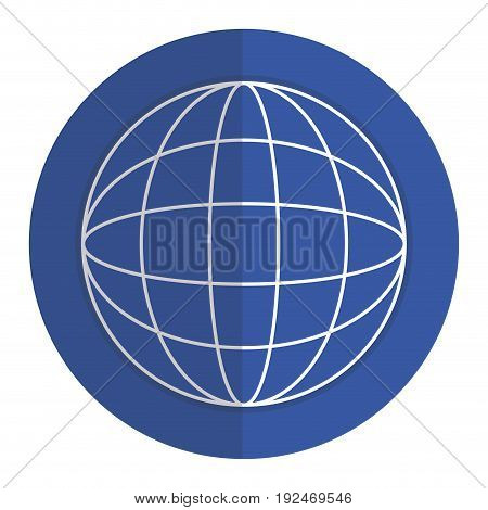 Wonderful planet earth icon vector illustration design graphic