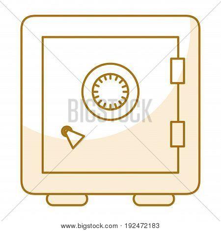 Safe important items icon vector illustration design graphic