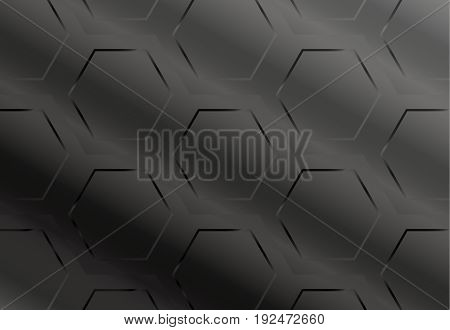 industry geometric pattern background, polygon abstract dark style