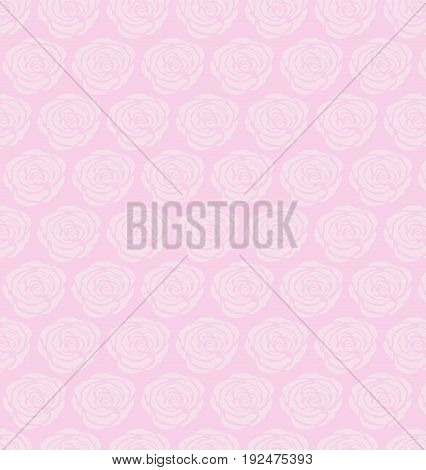 seamless roses pattern Vector illustration rose background vector