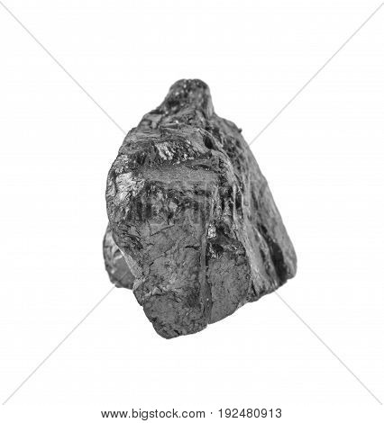 Coal Isolated On White Background