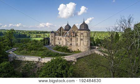 Sababurg in Germany, the castle of Sleeping Beauty