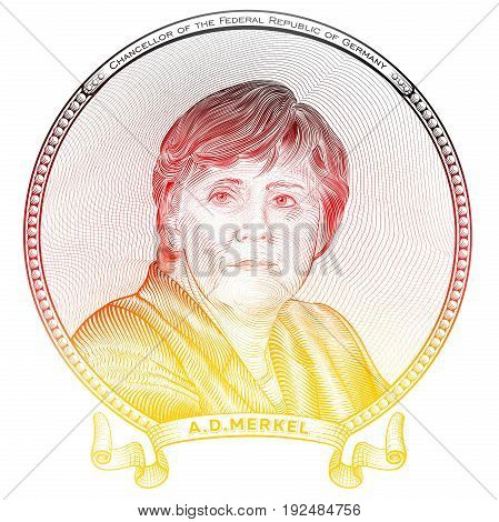 June 20, 2017 - Portrait of The current Federal Chancellor of the Federal Republic of Germany Angela Dorothea Merkel