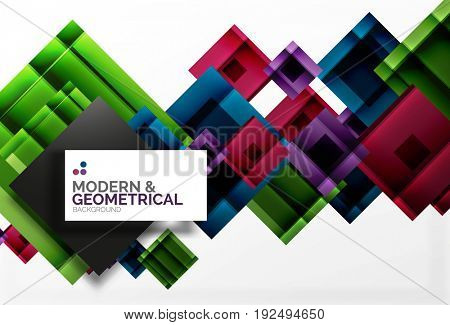 Corporate business abstract background template