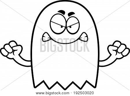 Angry Cartoon Ghost