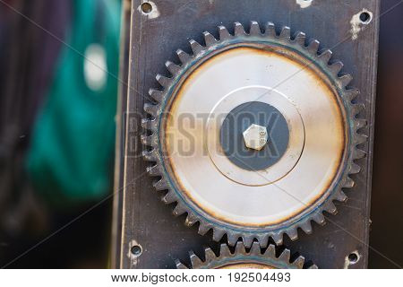 Sprocket Gear Made Of Steel, Industrial Object