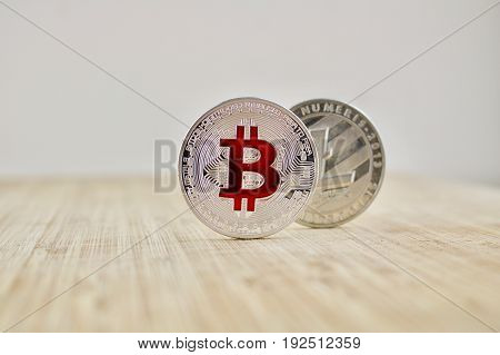 Bitcoin And Litecoin - Silver Cryptocurrency