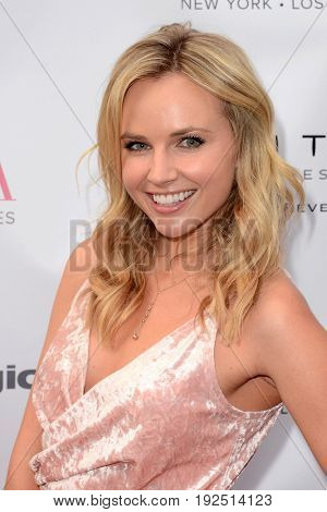 LOS ANGELES - JUN 23:  Kimberley Crossman at the BELLA Los Angeles Summer Issue Cover Launch Party at the Sofitel Hotel on June 23, 2017 in Los Angeles, CA