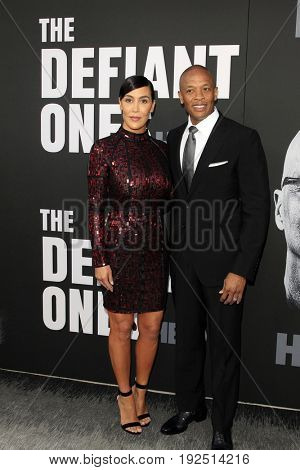 LOS ANGELES - JUN 22:  Nicole Young, Dr Dre at
