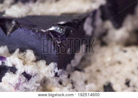 Purple Fluorite Stone