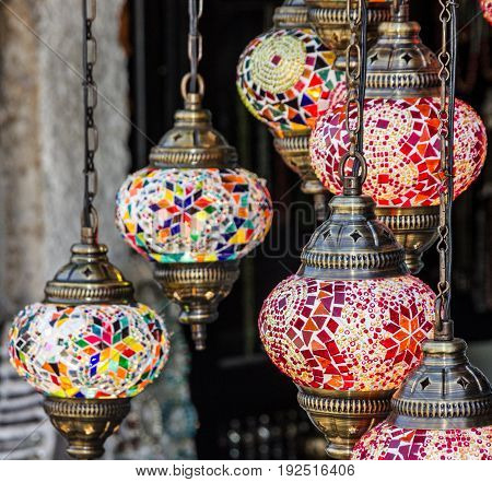 Arabic interior decorative lamps oriental traditional souvenirs