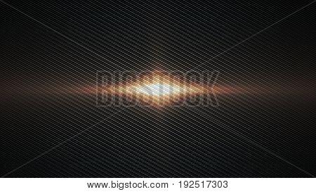 warm metallic carbon texture background 3d render