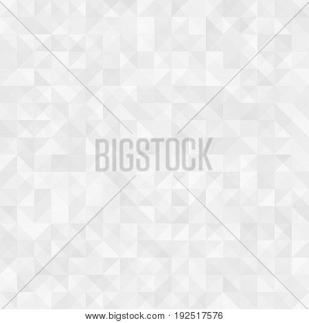 Light background for web sites. Gray triangles on a white background. Vector illustration. EPS 10