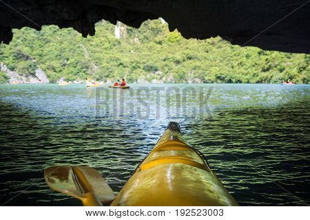 Kayaking Though The Caves First Person