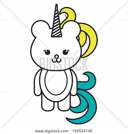 Stuffed animal monkey icon vector illsutration design graphic