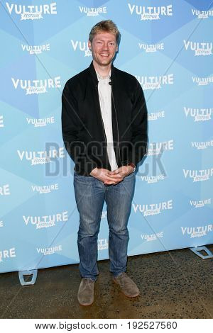 NEW YORK, NY - MAY 21: Hayes Davenport attends the 'Hollywood Handbook' podcast during the 2017 Vulture Festival at Milk Studios on May 21, 2017 in New York City.
