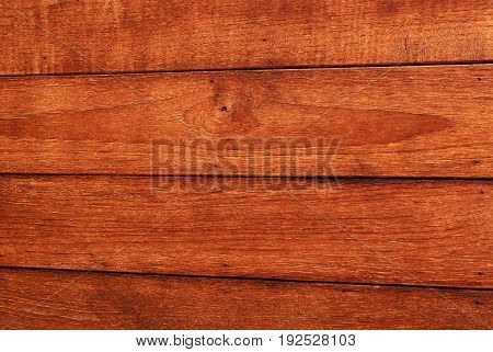 Background Pattern Horizontal Brown Wooden Grain Texture with Copy Space for Text Decorated.