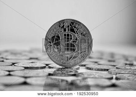 Bitcoin - Silver Coin