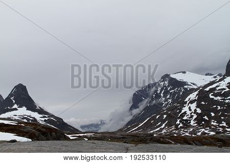 Natural landscape of Norway Scandinavia Northern Europe